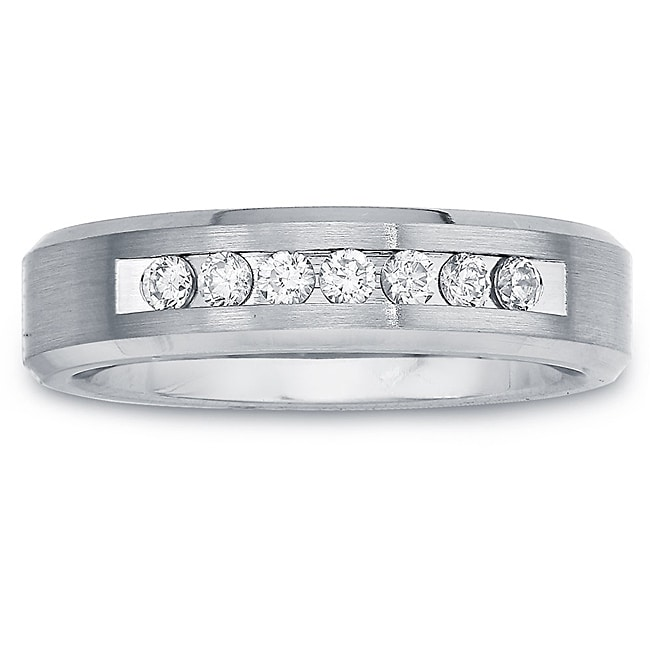 Cobalt Women's 1/5ct TDW Diamond 5-mm Band (H-I, I2)