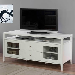 Aristo Gloss White 2-drawer Media Center