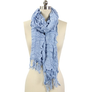 Romantic Ruffles Handmade Scarf (India)