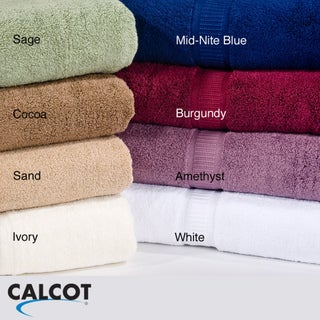 Calcot Supima Cotton Zero Twist Bath Towels (Set of 2)