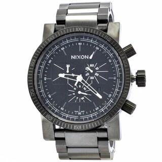 Nixon Men's Magnacon SS All Gunmetal Watch