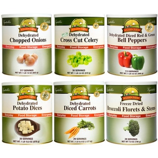 Augason Farms Vegetable Variety (Pack of 6)