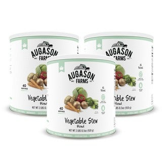 Augason Farms Vegetable Stew Blend (Pack of 3)