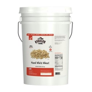 Augason Farms Hard White Wheat 6-gallon Pail