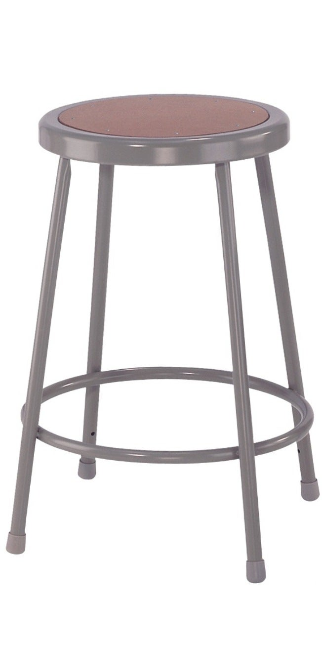 NPS 24-inch Fixed Height Round Stool