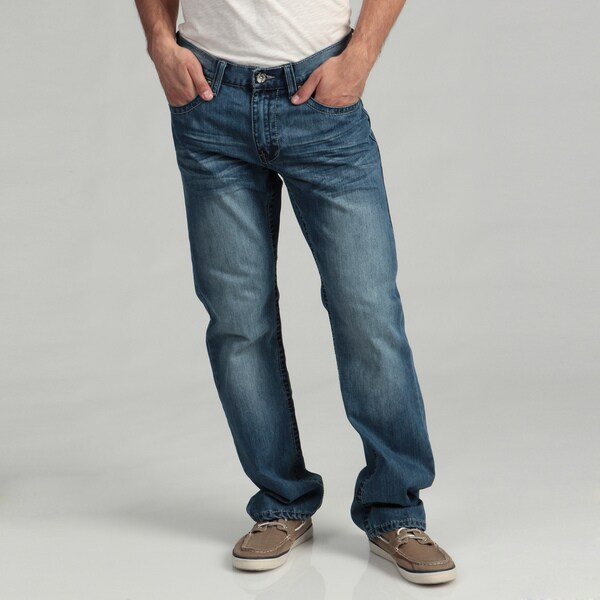 Request Jeans Men's Slim Straight Denim Jeans