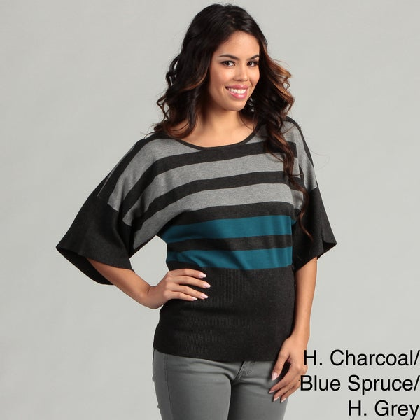 Cable & Gauge Women's Dolman Sleeve Sweater