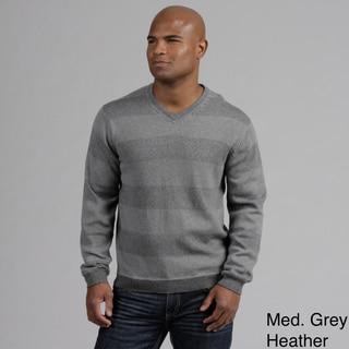 Weatherproof Men's Cashmere Blend V-neck Sweater