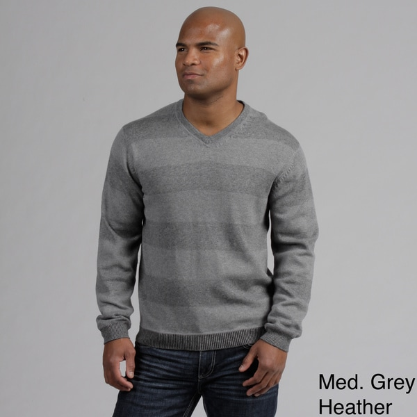 Weatherproof Men's Cashmere Blend V-neck Sweater