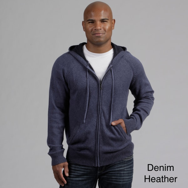 Weatherproof Men's Full Zip Cashmere Blend Sweater FINAL SALE
