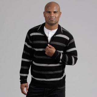 Weatherproof Men&#39;s 1/4-zip Wool/Cashmere Blend Sweater FINAL SALE