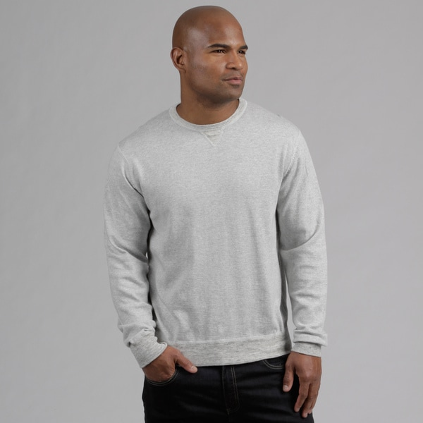 Weatherproof Men's Cotton/Cashmere Blend Sweatshirt