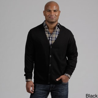 Weatherproof Men's Button Front Cashmere Blend Cardigan