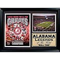University of Alabama Greats Photo Stat Frame