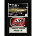 University of New Mexico Logo Photo Stat Frame