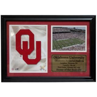 University of Oklahoma Logo Photo Stat Frame