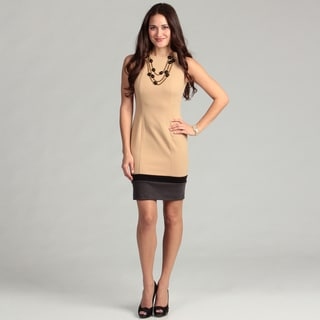 Calvin Klein Women's Colorblock Sleeveless Dress
