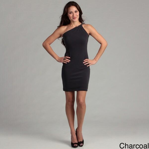 Calvin Klein Women's Matte Jersey One-shoulder Dress FINAL SALE