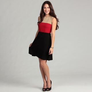 Calvin Klein Women's Colorblock Dress FINAL SALE