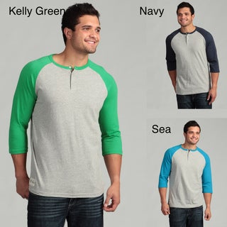 Company 81 Men's Raglan Sleeve Henley Tee FINAL SALE