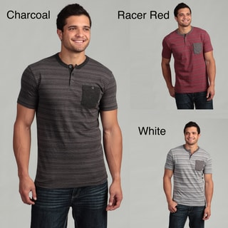Company 81 Men's Striped Henley Tee