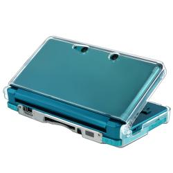 BasAcc Clear Crystal Case for Nintendo 3DS