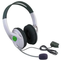 BasAcc Headset with Microphone for Microsoft xBox 360