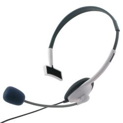 BasAcc White Headset for Microsoft xBox 360