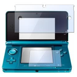 BasAcc 2-LCD Kit Screen Protector for Nintendo 3DS