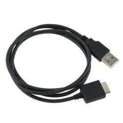 INSTEN Black 2-in-1 USB Cable for Sony S616/ A818