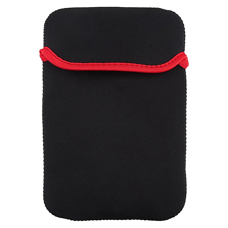 INSTEN Black 7-inch Universal Tablet Sleeve Protective Phone Case Cover