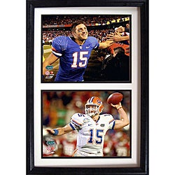 University of Florida Tim Tebow Double Photo Frame 3