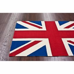nuLOOM Handmade United Kingdom Wool Rug (4' x 6')