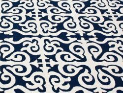 nuLOOM Handmade Marrakesh Navy Wool Rug (7'6 x 9'6)