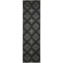 Nourison Utopia Black Abstract Rug (2'3 x 8')