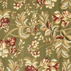 Safavieh Lyndhurst Collection Floral Sage Rug (7' Square)