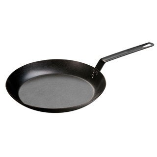 Lodge Seasoned Steel Carbon 12-inch Skillet