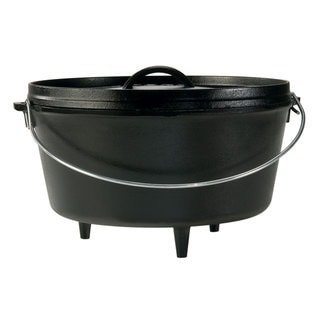 Lodge Logic 5-quart Deep Camp Dutch Oven