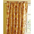 French Print Luxe Dupioni Silk 84-inch Curtain Panel