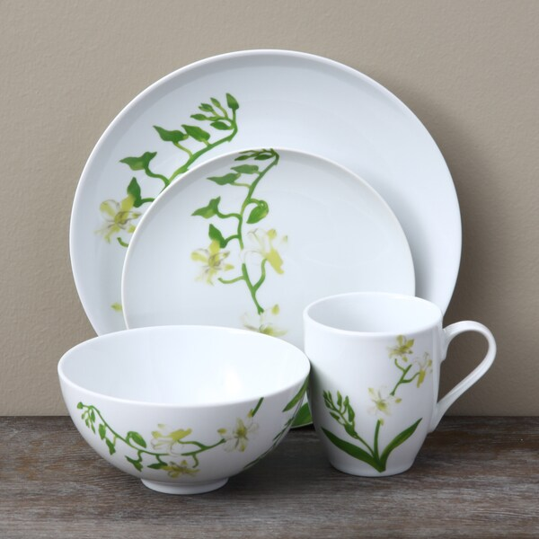 Oneida Morning Flora 16-piece Dinnerware Set