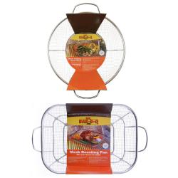 Mr. Bar-B-Q Stainless Steel Mesh Roasting and Grilling Set