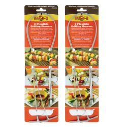 Mr. Bar-B-Q Grilling Skewers 4-pack