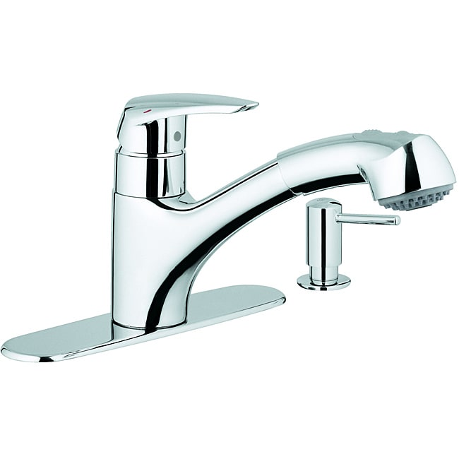 Admirable Grohe Alira Kitchen Faucet Raised