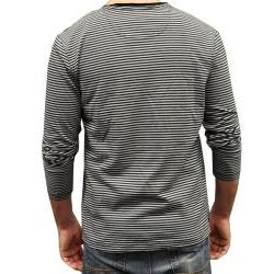 Something Strong Men's Striped Long Sleeve Tee