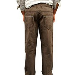 Something Strong Men's Grey Straight Leg Jeans