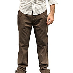 Something Strong Men's Grey Straight Leg Jeans