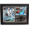 Carolina Panthers Cam Newton Photo Stat Frame