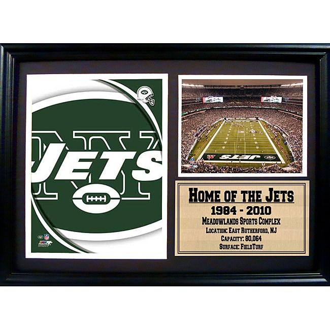 New York Jets Team Logo Photo Stat Frame