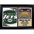 New York Jets Team Logo Photo Stat Frame