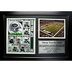 New York Jets 2010 Photo Stat Frame